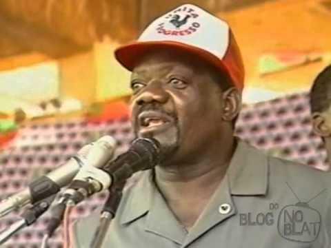 Comício de Jonas Savimbi no Cuanza-Sul - Angola, 1992 (3)