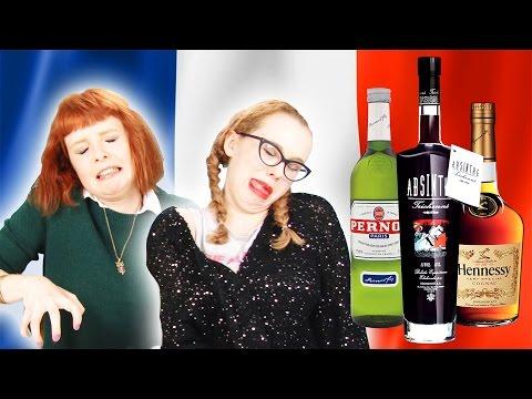 Irish People Taste Test French Alcohol