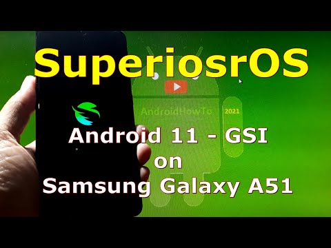SuperiorOS Android 11 for Samsung Galaxy A51 - Custom ROM