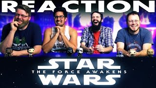 Honest Trailers - Star Wars: The Force Awakens REACTION!!