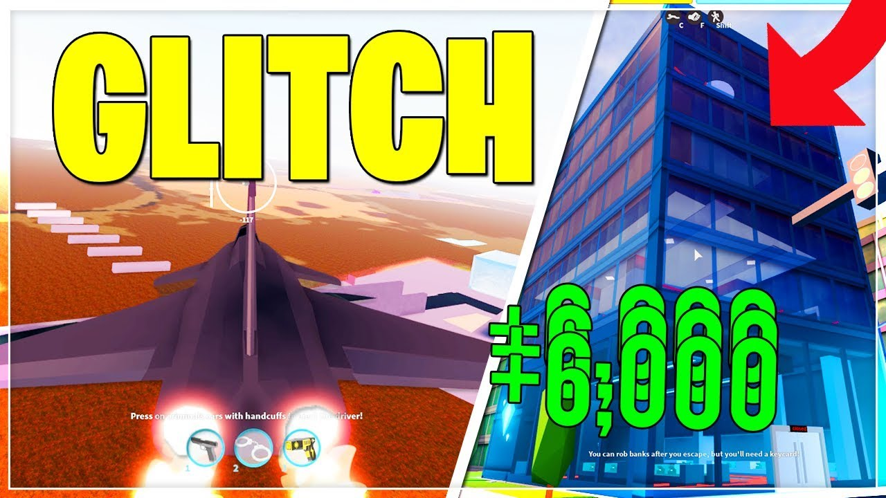 Top 3 Best Jailbreak Glitches You Should Know Roblox Youtube