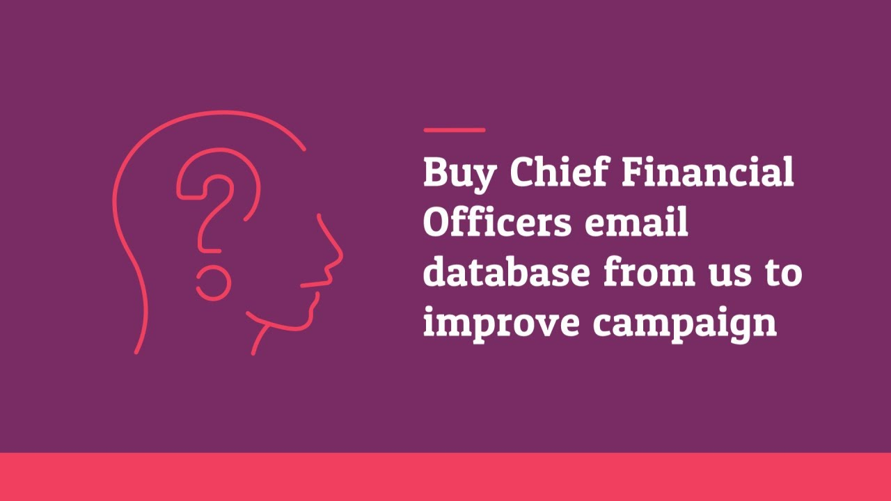 Finland CFO Business Email List Providers