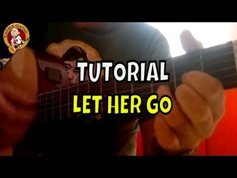 Como tocar LET HER GO de THE PASSENGER en...