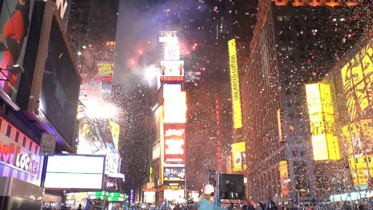 New Year s 2013 Times Square Celebrations   YouTube New Year s 2013 Times Square Celebrations