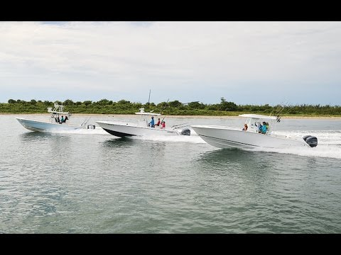 Florida Sportsman Best Boat - Tournament Ready or Rigged for Family, 30 to 32 foot Center Consoles