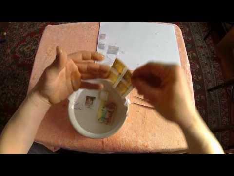 Вопрос: Как снять почтовую марку с конверта?