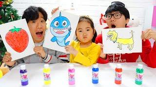 Colorir os novos desenhos de Boram e amigos