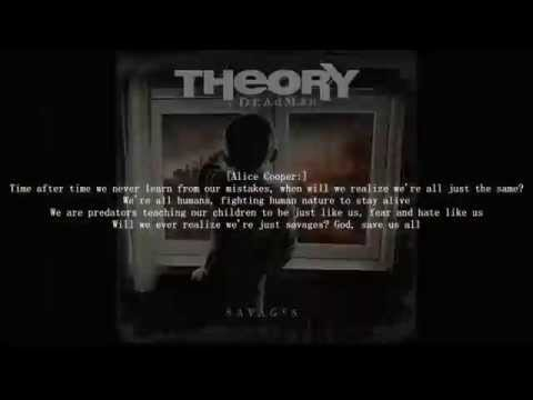 Theory of a deadman Savages Lyric video