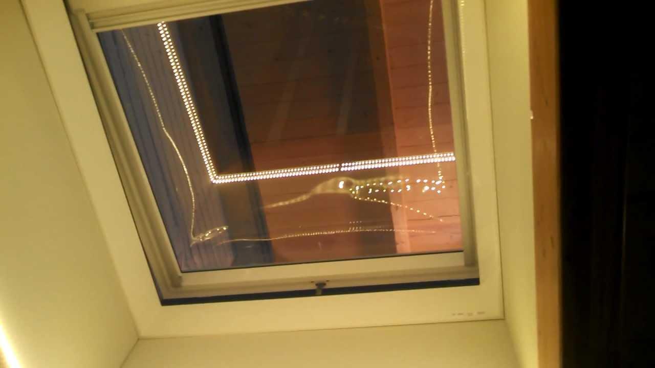 fermeture lectrique d 39 un velux pour toit plat avec coupole youtube. Black Bedroom Furniture Sets. Home Design Ideas