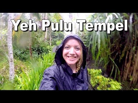 Indonesien #034: Yeh Pulu Tempel bei Regen | Ubud, Bali