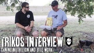 K-9 Nutrition: An Interview And Bite Work Demo With Mike Ritland And Rico