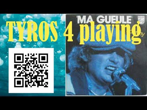 Johnny Hallyday - Ma gueule ! Instrumental COVER TYROS PSR GENOS Wonfoli piano keyboard synth