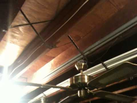 52 Quot Antique Brass Ge Vent Ceiling Fan By Air Cool Youtube