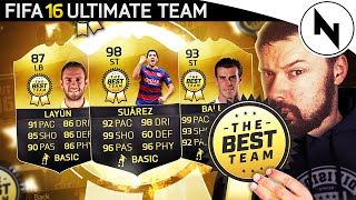 THE BEST TEAM IN FIFA.. EVER! - FIFA 16 Ultimate Team Squad Builder
