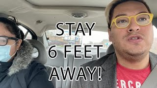 STAY 6 FEET AWAY FROM ME!