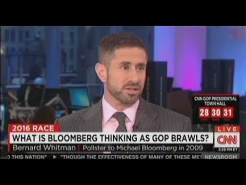 Bernard Whitman On The Possibility Of A Bloomberg Run