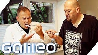 Jumbo Schreiner testet Fleischsalat | Galileo | ProSieben