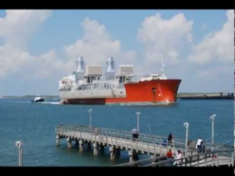 Power Barge Launch Time Lapse