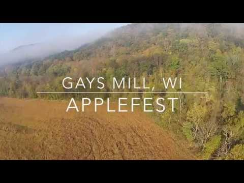 Gays Mills Apple Festival brings thousands to town from YouTube · Duration:  40 seconds