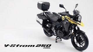 V-Strom 250/ABS official promotional movie thumbnail