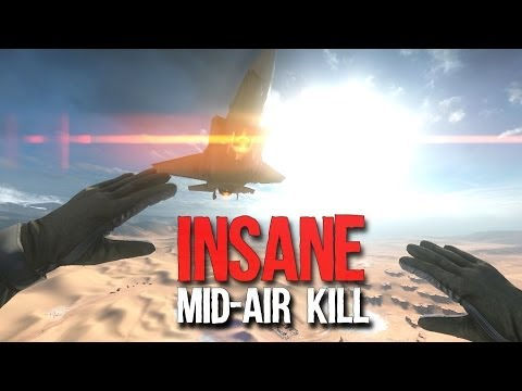 Battlefield 4: Insane Mid-Air Kill Jet Stunt