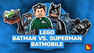 ◉ Обзор LEGO Batman V Superman - Kryptonite Interception review ЛЕГО Бэтмен против Супермэна 76045