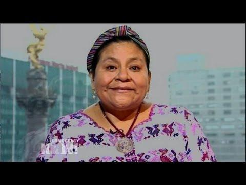 Nobel Laureate Rigoberta Menchú Hails Genocide Conviction of Ex-Guatemalan Dictator Ríos Montt 1/2