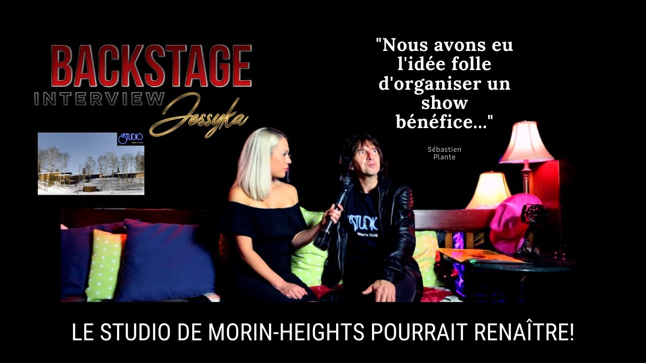 Backstage Interview | Le Studio Morin-Heights