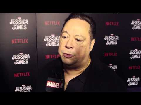 Joe Quesada on Hell's Kitchen  - Marvel's Jessica Jones Red Carpet