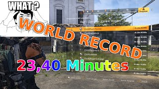 WORLD RECORD - Raid in 23,40 minutes | The Division 2