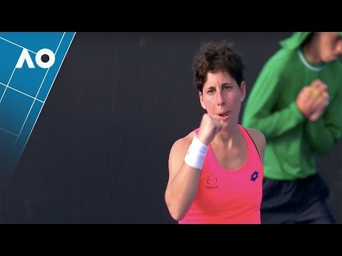 Suárez Navarro v Cepelova match highlights (1R)   Australian Open 2017