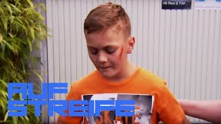 Aufgemalter Zebrastreifen: Mann Fährt Jungen Skateboarder (13) Um! | Auf Streife | SAT.1 TV