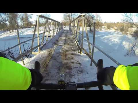 Winter City Park Tour - Jamestown ND