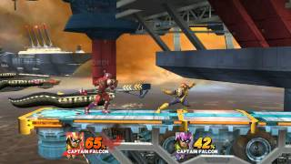 Captain Falcon VS Blood Falcon