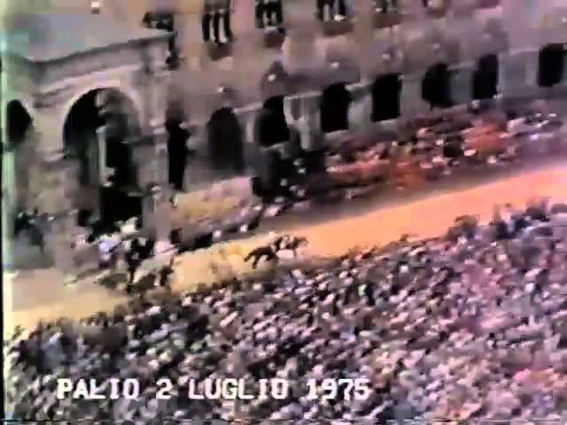 Palio 2 luglio 1975