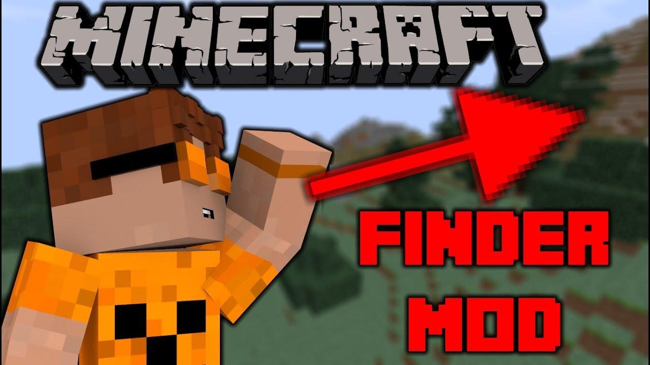 Minecraft Mod Review Finder Mod YouTube - Minecraft spieler finden mod