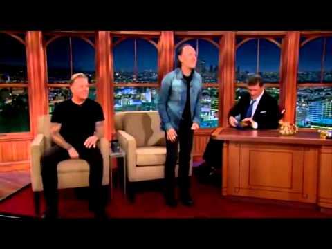 The Late Late Craig Ferguson Show 17 November 2014 James Hetfield Lars Ulrich