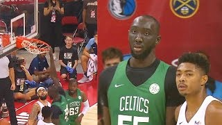 Tacko Fall DESTROYS Rim With Dunks In 2019 NBA Summer League! Celtics vs Grizzlies Video