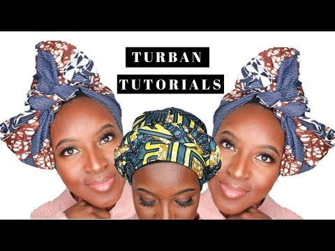 ANKARA TURBAN TUTORIAL | INSTAGRAM TUTORIAL #103 | 2018