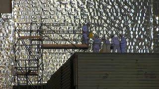 Un nouvel ,abri de confinement pour Tchernobyl