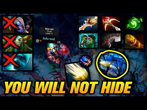 SVEN 43 FRAGS - You Will Not Hide - Dota 2 Highlights TV