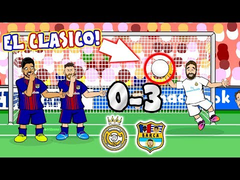 😲0-3! El Clasico 2017!😲 Real Madrid vs Barcelona (Parody Goals and Highlights Song)