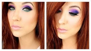 Statement Eyes | Purple & Teal - Electric Palette Thumbnail
