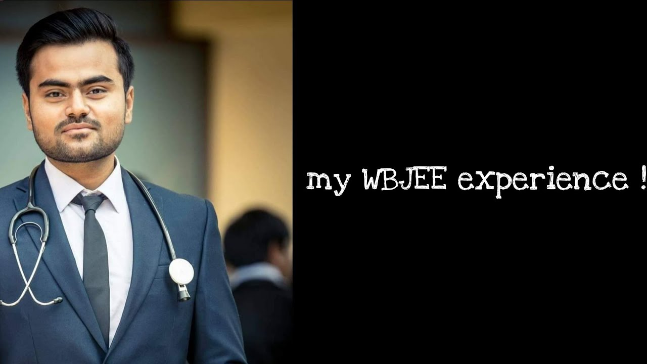 My Wbjee experience | Journey of a doctor