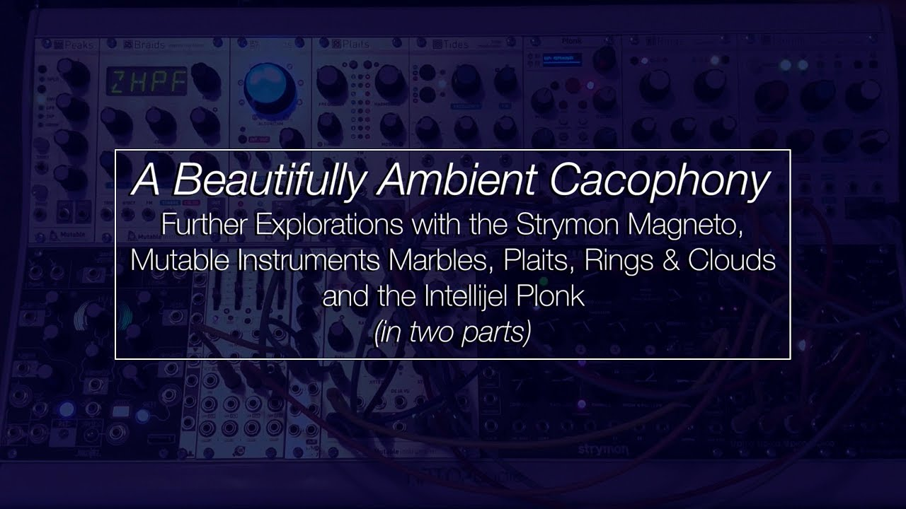 Repeat A Beautifully Ambient Cacophony // Further