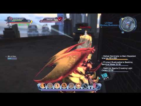 DC Universe Online: Doctor Fate Bounty (PS3 Gameplay)