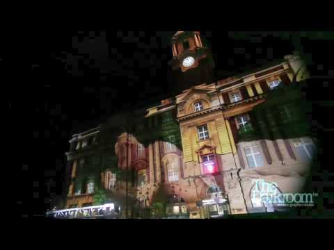 Ferry Building Projection