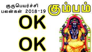 கும்ப ராசி குருபெயர்ச்சி பலன்கள் 2018 2019||Kumbha rasi Gurupeyarchi palangal 2018 2019