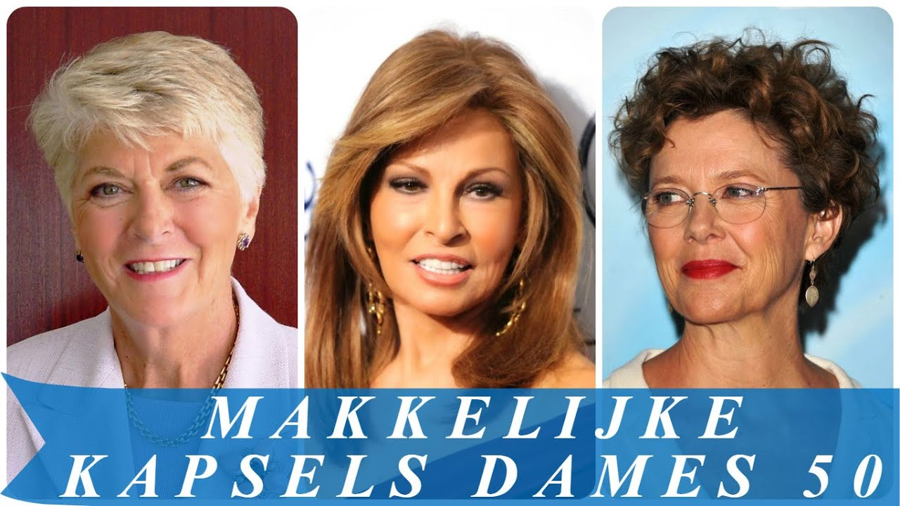 Populair Makkelijke kapsels dames 50 - YouTube #ML06