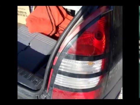 Замена ламп стоп-сигналов Лада Калина